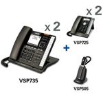 View All Corded Wall Phones VTech vsp735 vsp726 vsp505