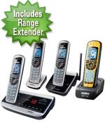 dect3380 4r w/ waterproof handset