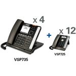View All Corded Wall Phones VTech vsp735 vsp725