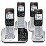 All Four Handset Phones vtech vs112 4 silver