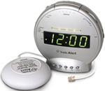 Sonic Alert Alarm Clocks sonic alert sbt425ss