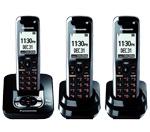 3 Handsets panasonic kx tg7433b