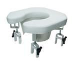 Lumex Lum6497a Open Padded Raised Toilet Seat