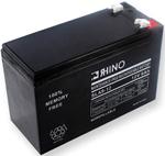 """Rhino SLA 9-12, The Rhino SLA 9-12 sealed lead acid battery is a valve-regulated type, which fixes the acid electrolyte in an absorptive fiberglass mat"