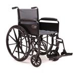 Everest and Jennings 3E012320 20x16 Traveler SE Wheelchair