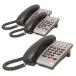 NEC 780025-3pack DTR-1HM-1 Single Line Telephone (Black)