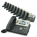 6 Line Voice Over IP Phones yealink sip t27p 5 pack