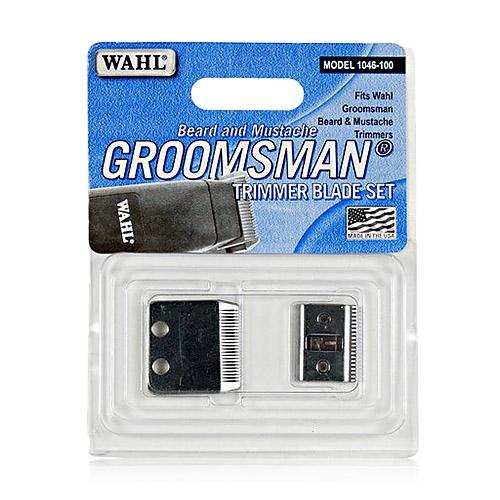 wahl 1046 100 beard trimmer replacement blade set new ebay. Black Bedroom Furniture Sets. Home Design Ideas