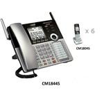 4 Line Phones vtech cm18445 + 6 cm18045