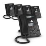 SNOM D745 (5-Pack) D745 Desk Telephone