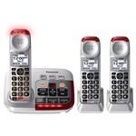 Panasonic Three Handset Phones panasonic kxtgm450 s tgma45 s