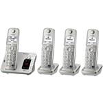 Four Handsets panasonic kx tge264
