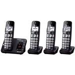 Four Handsets panasonic kx tg454sk