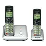 Black Cordless Wall Phones VTech cs6419 2