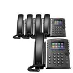 6 Line Voice Over IP Phones polycom 2200 48400 025