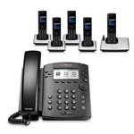 6 Line Voice Over IP Phones polycom 2200 48300 001