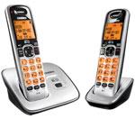 Uniden Two Handset Cordless Phones uniden d1660 2 r