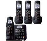 Four Handsets panasonic kx tg6644b