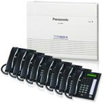 Panasonic KX TA824PK 7731B (8 pack) KX TA824PK w/ 8 KX TG7731B pho