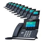 6 Line Voice Over IP Phones yealink sip t52s