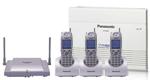 Panasonic KX TA824 TD7896W KX TA824 + (3) KX TD7896 Cordless Phone
