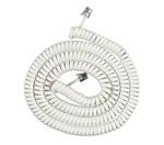 ATT Telephone Accessories att 25 foot white coil cord