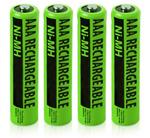 Siemens Batteries siemens nimh aaa batteries 4 pack