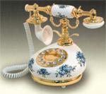 Golden Eagle Electronics Antique Porcelain Phones golden eagle 9008
