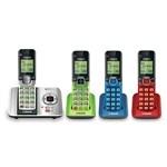 DECT 6 Cordless Phones Four or More Handsets vtech cs6529 4b