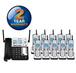 ATT Five and More Handset Cordless Phones att sb67138 9 sb67108