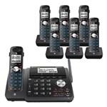 Five or More Handset Phones att tl88102bk plus 6 tl88002bk