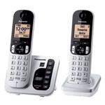 Panasonic Two Handset Phones panasonic kx tg432sk