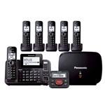 panasonic kx tg9542b plus 4 kx tga950b with range extender and call blocker