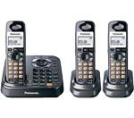 3 Handsets panasonic kx tg9343t