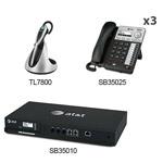 8 Line Corded Phones att sb35010 3 sb35025 1 tl7800