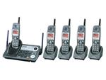 5  Handsets  panasonic kx tg6500b 4 kx tga650b