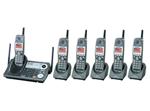 5  Handsets  panasonic kx tg6500b 5 kx tga650b