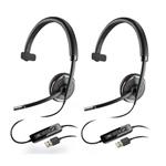 Plantronics Blackwire C510-2 Mono Corded Headset