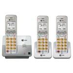 ATT Three Handset Cordless Phones att el51303 el51103 plus 2 el50003