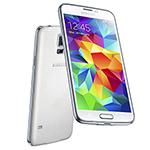 Samsung GALAXYS5EURO-WHITE Unlocked GSM Mobile Phone