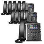 6 Line Voice Over IP Phones polycom 2200 46162 025