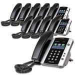 6 Line VoIP Phones polycom 2200 44500 025