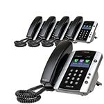 6 Line Voice Over IP Phones polycom 2200 44500 001