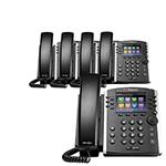 6 Line VoIP Phones polycom 2200 46157 025 5pck