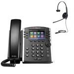 Polycom 2200-46157-025 w/ Headset Option 12-line Mid-Range Business Me