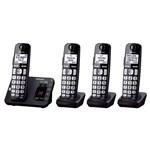 Cordless Phones with Answering Machines panasonic kx tge234b