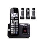Panasonic KX-TGE234B-R 4 Handset Cordless Phone